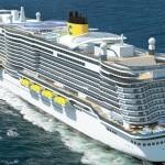 Costa Cruises Holds Coin Ceremony for Costa Smeralda