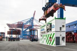 Hampburg port