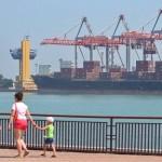 Ukraine's ports show struggles to join global economy