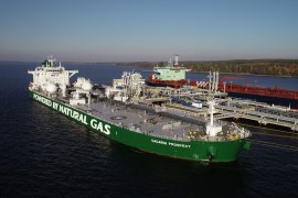 LNG-powered