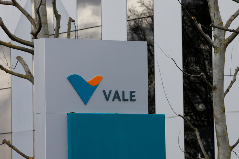 FILE PHOTO - The headquarters of of mining company Vale SA is pictured, in St-Prex, Switzerland January 30, 2019. REUTERS/Denis Balibouse
