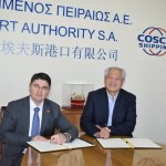 Signing of MoU between Piraeus and the Ports of Venice and Chioggia