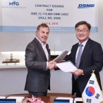 Maran Gas Orders One More LNG Carrier at DSME