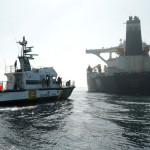 Iran Tanker Shifts Position But Still at Anchor Off Gibraltar
