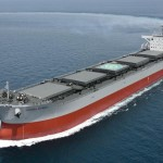 K Line Takes Delivery of New Corona Coal Carrier