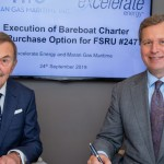 Excelerate Energy and Maran Gas Maritime Execute Agreement for FSRU