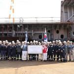 SHI Lays Keel for GasLog LNG Carrier
