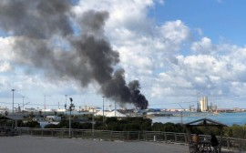 Tripoli government suspends Libya talks after Haftar attacks Tripoli port