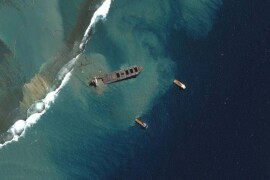 oil clean-up
