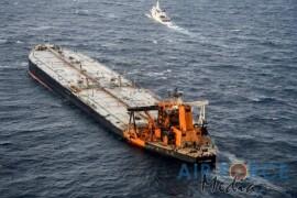 fire-hit tanker