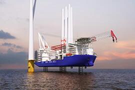 Wind Turbine Installation Vessel