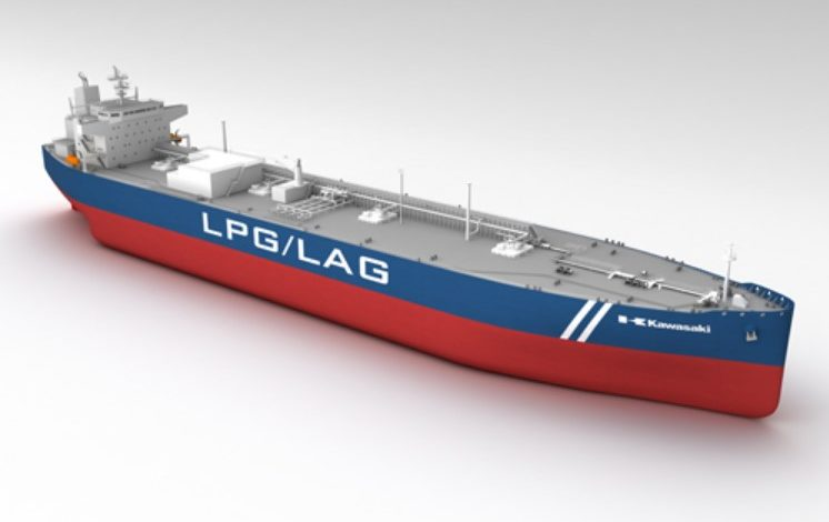 kawasaki-LPG-LAG-carrier