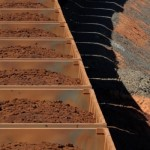 China iron ore, steel prices rise, but ample ore stockpiles weigh