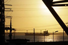 A fuel tanker navigates near the Cienfuegos Oil Refinery some 240 kilometres, (150 miles), southeast of Havana February 7, 2013.