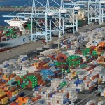 Ships Wait to Unload at Port of Los Angeles as China Imports Boom