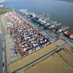 New Empty Container Yard At DP World London Gateway Port