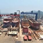 Construction begins on Finnlines' hybrid RoRo vessel