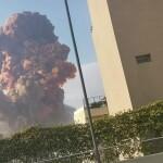 Massive Explosion in Beirut Port Area Rocks Lebanon's Capital
