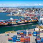 Containers Piling Up At U.S. Rail Yards Add to Port Strains